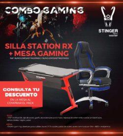silla gaming woxter precio