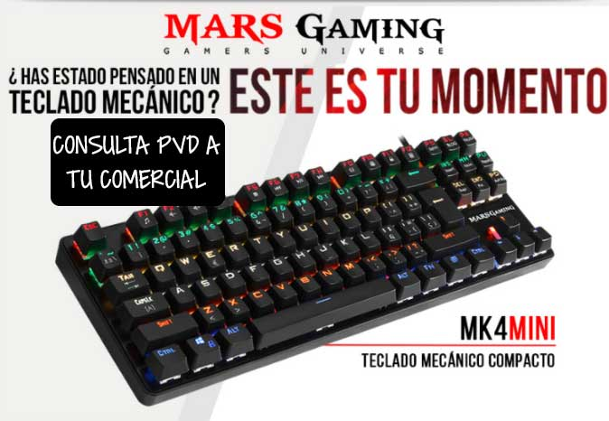 teclado mars gaming precio