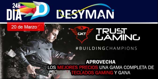 comprar teclados Trust Gaming