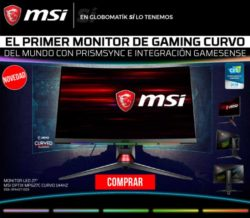 "MONITOR LED 27"" MSI OPTIX G27C2 CURVO 144HZ"