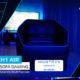 SOFA GAMER PRO AEROCOOL PROJECT 7 BIG SIZE ULTRA CONFORTABLE ESPACIO DE ALMACENAMIENTO INTERIOR