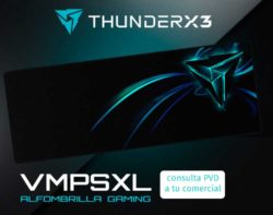 ALFOMBRILLA GAMING PRO THUNDERX3 VMP XL 350x950x4mm