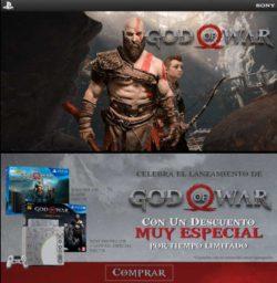 celebra el lanzamiento de God of War