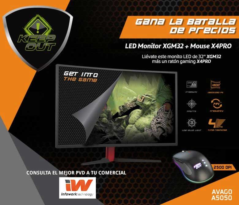 oferta monitor gaming XGM32
