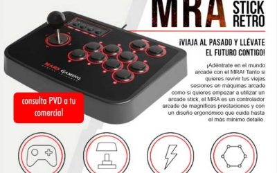 Arcade Stick Retro de Mars Gaming