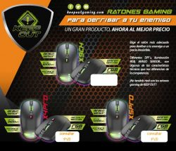 oferta ratones gaming keepout