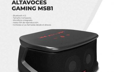 Oferta altavoces Gaming MSB1