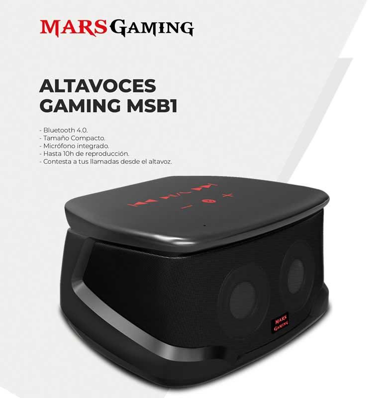 altavoces gaming MSB1