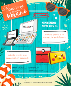 Nintendo New 2DS XL Blanca/Naranja