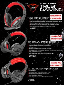 auriculares gaming de trust
