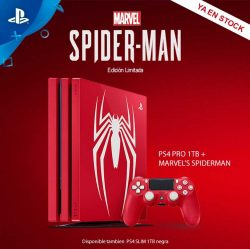 CONSOLA PS4 SLIM 1TB + MARVEL'S SPIDERMAN