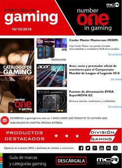 miercoles del gaming en MCR