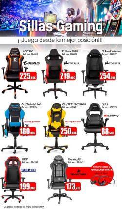 ofertas, descuentos, novedades sillas gaming