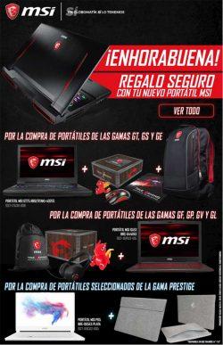 ofertas, promociones, descuentos con los portátiles de MSI