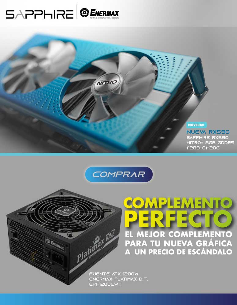 ESPECIAL SAPPHIRE & ENERMAX