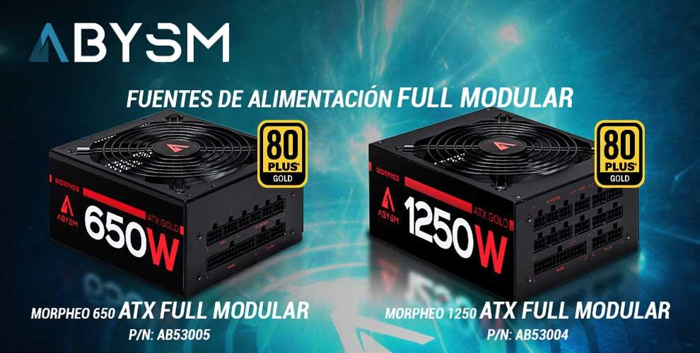 Abysm Morpheo Full Modular fuentes alimentación gaming