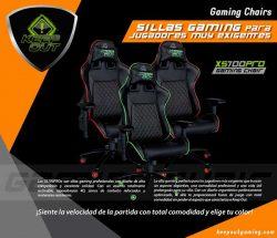 ofertas, novedades, descuentos en sillas gaming