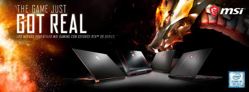 GS75 Stealth y GS65 Stealth con la última tecnología NVIDIA® GeForce RTX