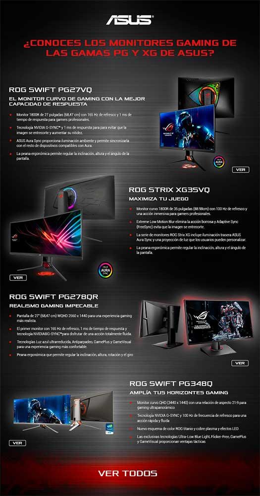 monitores gaming baratos