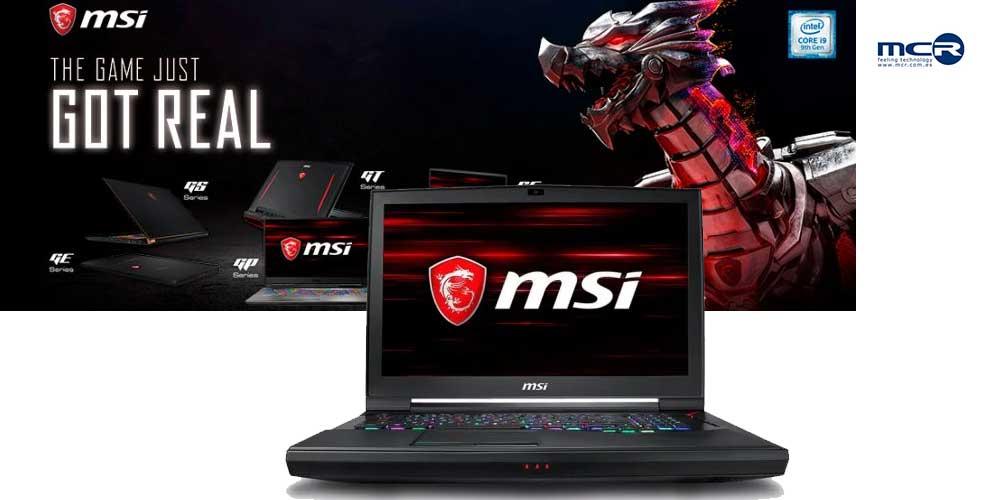comprar portatil MSI i9