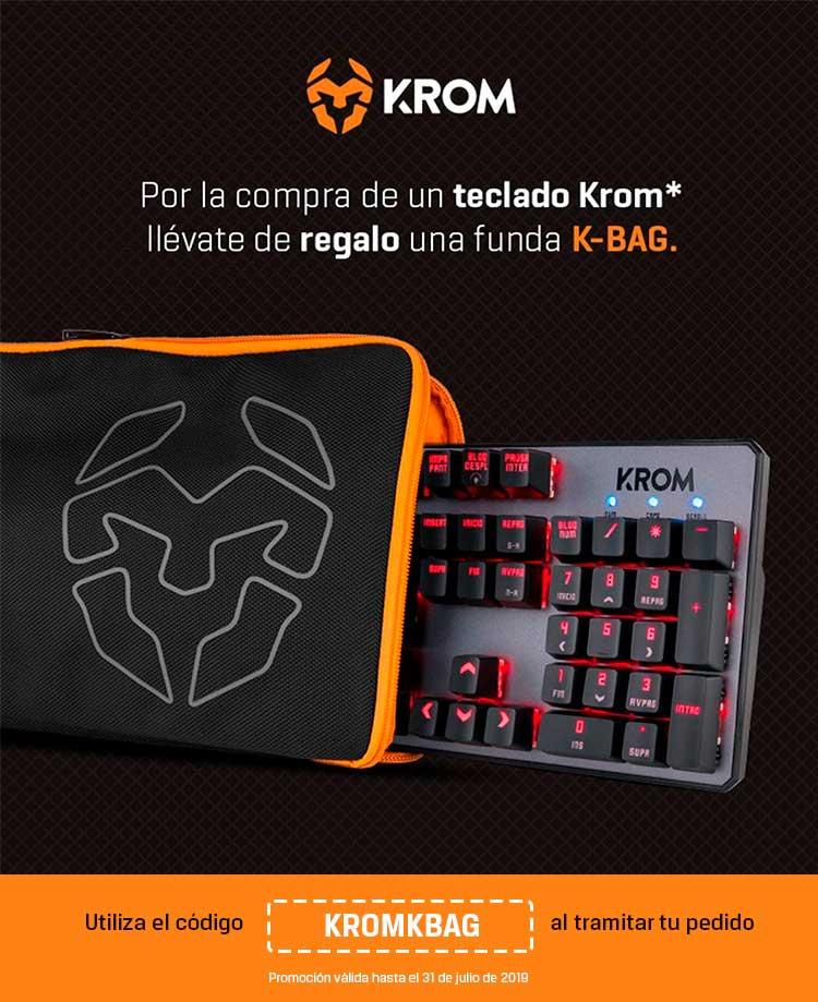 funda de regalo con los teclados krom