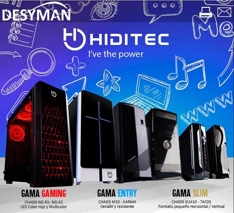 nuevos precios y configuraciones gaming Hiditec