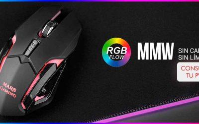 Mars Gaming MMW, ratón inalámbrico sin cables, sin límites