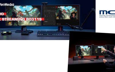 AVerMedia presenta su nuevo PACK STREAMING BO311S