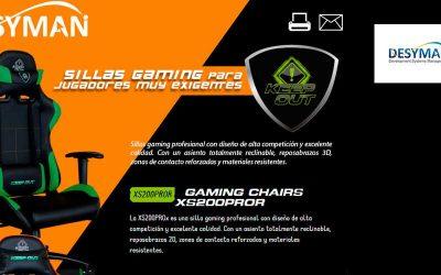 Sillas gaming para jugadores muy exigentes