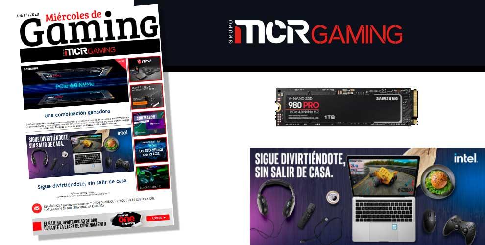 MIércoles de gaming en MCR