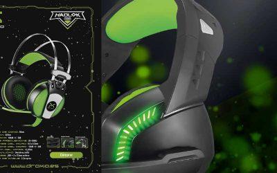 Auriculares Gaming Droxio de alta gama a precio imbatible