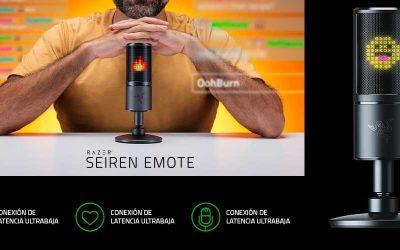 Razer Seiren Emote, el nuevo icono del streaming