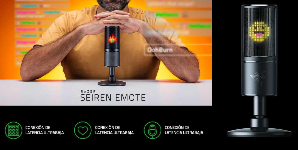 comprar microfono razer seiren emote