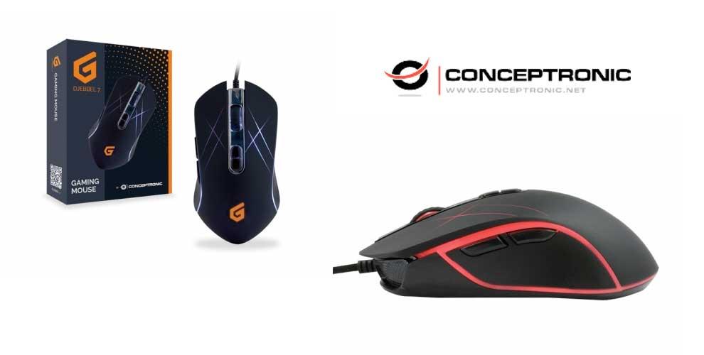 Ratón para juegos Conceptronic 3200 dpi