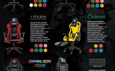 Talius amplía la familia de sillas gaming y colores