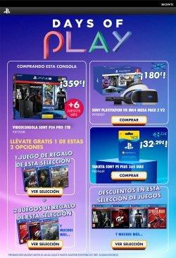 ofertas especiales en Sony