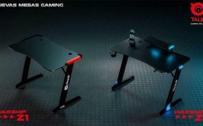 Mesas gaming Talius Warship Z1 y Z2