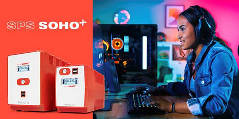 SPS Soho +, el SAI ideal para gamers