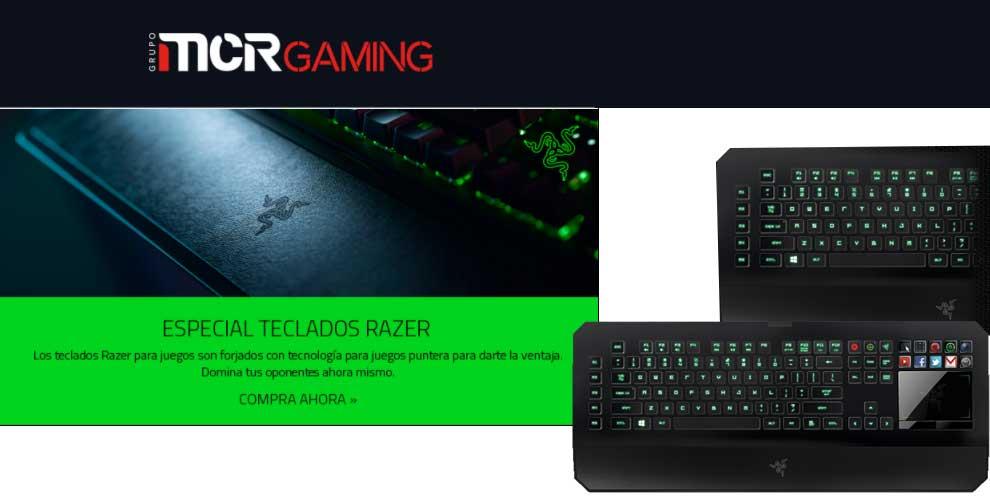 Especial teclados gaming en MCR