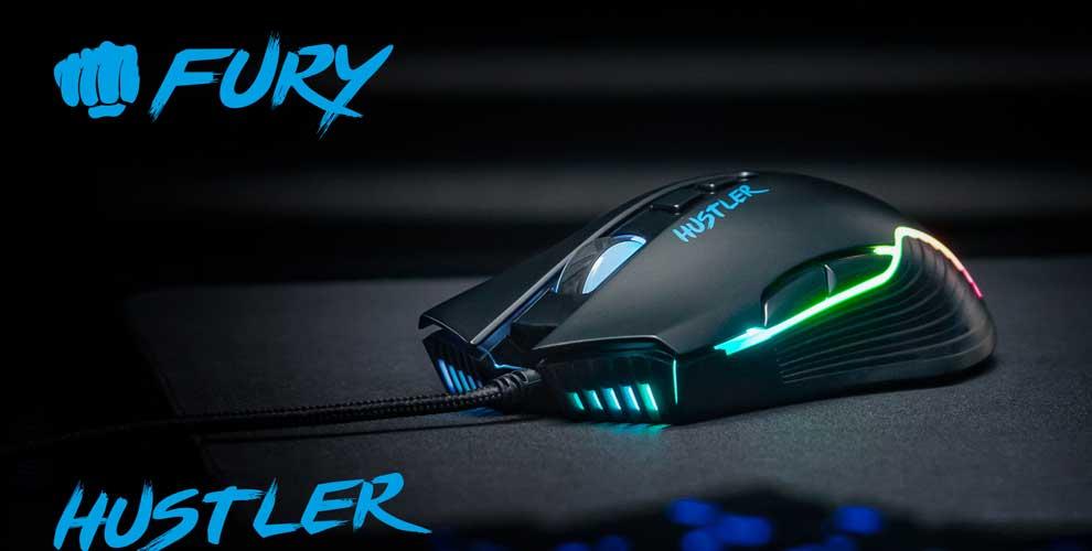 Gaming mouse Fury Hustler