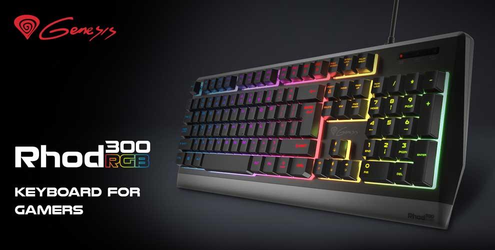 teclado gaer Genesis rhod 300 rgb