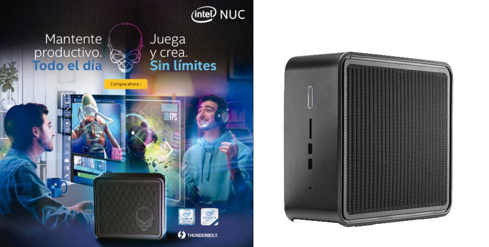 juega y crea con Intel NUC