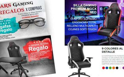Regalo por compras de silla gaming MGCX Neo