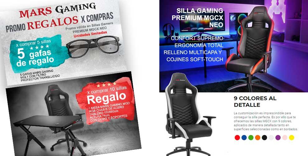 novedad sillas gaming en desyman