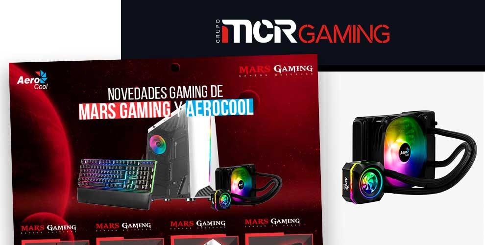 novedades aerocool y mars gaming en MCR
