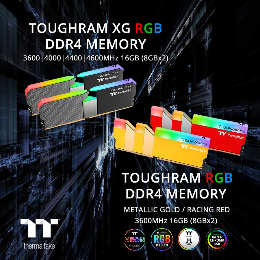 memoria de gama alta thermaltake