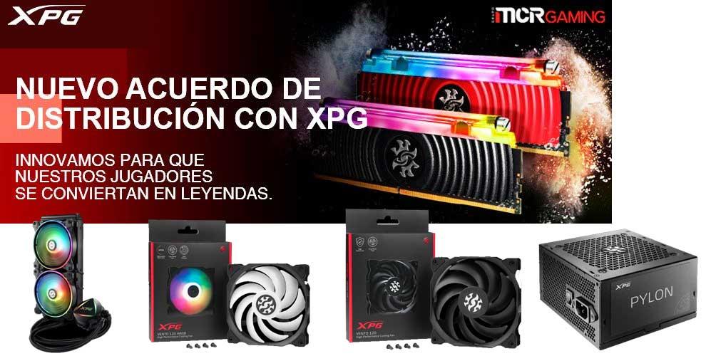 MCR añade a su portfolio la marca XPG