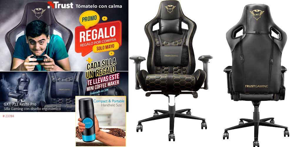 comprar silla gaming Trust