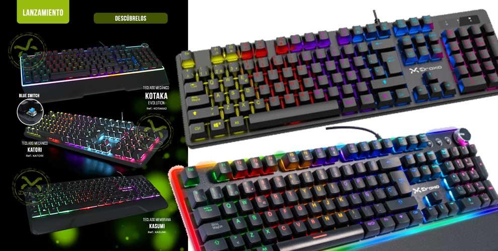 Descubre los nuevos teclados de Droxio