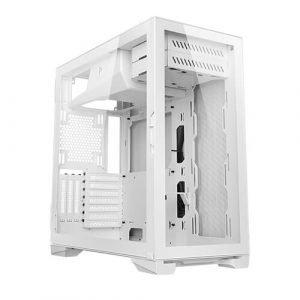 caja pc gaming con lateral cristal